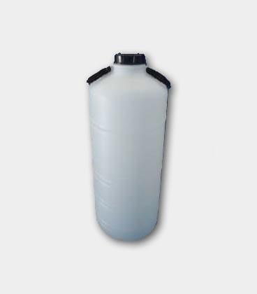BIDON 30L - BOCA ANCHA - NATURAL (1.0 Kgs) D90 CON ASAS