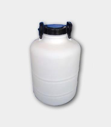 BIDON 30L - BOCA ANCHA - NATURAL (1.2 Kgs) D130 CON ASAS