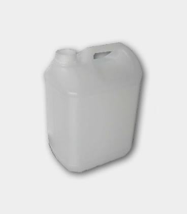 BIDON 5L - RECTANGULAR - NATURAL (145 Grs) B40