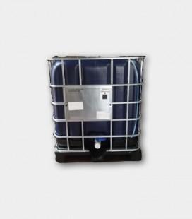 CONTENEDOR (IBC/GRG) 1000L - AZUL - PALET PLASTICO Ø150mm