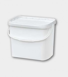 CUBO 11L- RECTANGULAR BLANCO
