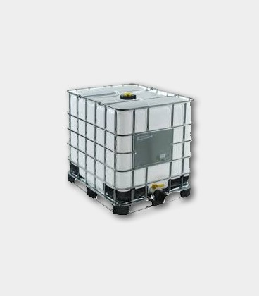 CONTENEDOR (IBC) 1000L - NATURAL - PALET HIBRIDO Ø150mm