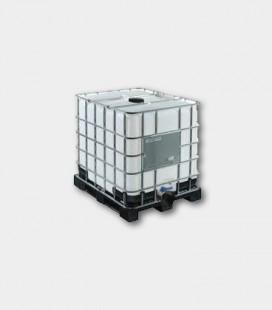 CONTENEDOR (IBC/GRG) 1000L - NATURAL - PALET PLASTICO Ø150mm